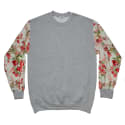 Cut & Sew Floral Sweatshirt image