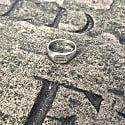 Know Thyself Engraved Sterling Silver Signet Ring image
