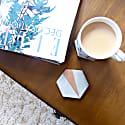 Callie Copper Concrete Coasters Set Of 4 image