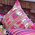 Berber Pink Hemp Cushion image