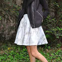 White Marble Skirt image