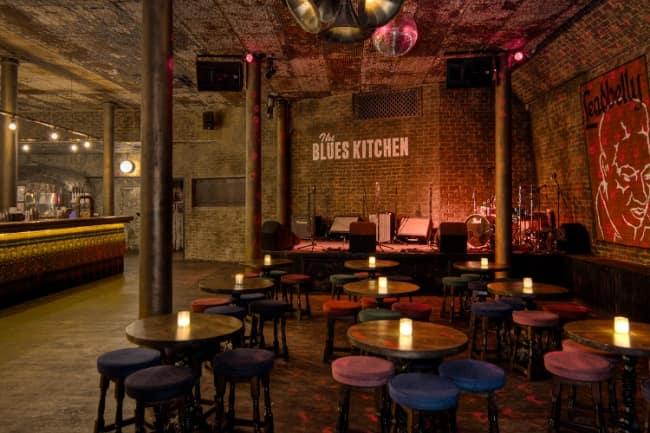 The Blues Kitchen Shoreditch Menu
