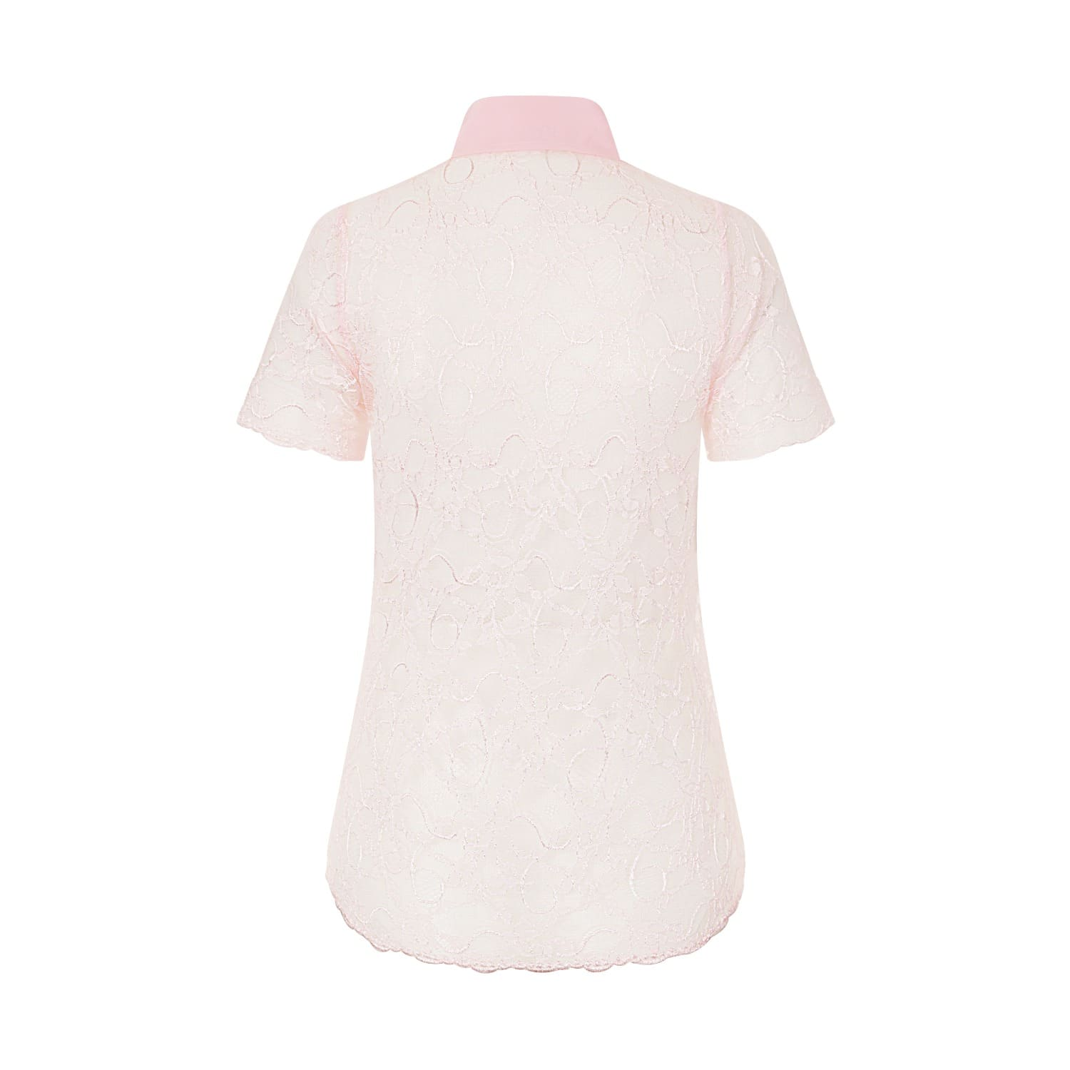 Pale Pink Lace Shirt Sophie Cameron Davies Wolf Badger