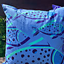 Bubble Fish Weatherproof Outdoor Cushion image