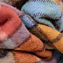 Recycled Wool Blanket In Buchanan Antique Tartan image
