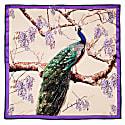 Peacock Scarf Royal Gold image