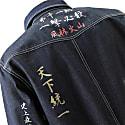 Tokkou Japanese Denim Long-Sleeve Shirt in Blue image