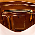 Mod 206 Briefcase in Cuoio Brown image