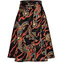 Scarlett Skirt Dragons Black image