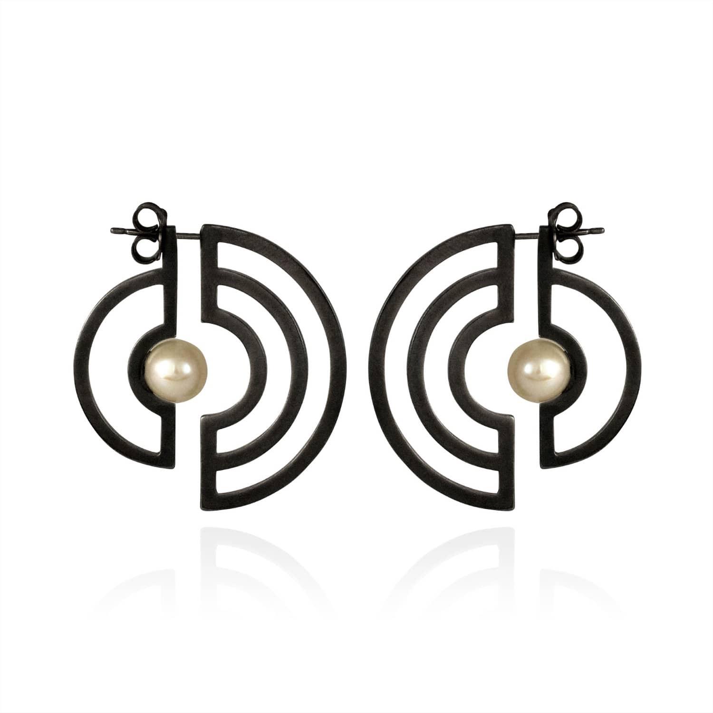 Cara Tonkin Gold Orbit Solaris Earrings BlzsIteVy