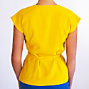Retro Blouse  Sunflower Yellow image