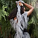 Tulle Scarf Dove Grey image