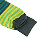 Green Gradient Striped Organic Cotton Socks image