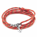 All Red Kedge Rope Bracelet  image