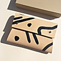 Handcrafted Leather Pouch - Misha Shapes image