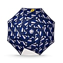 Small Umbrella: Wave - Multicolor Pattern image