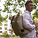 Pickle Roll Top Backpack Desert Waxed Canvas image