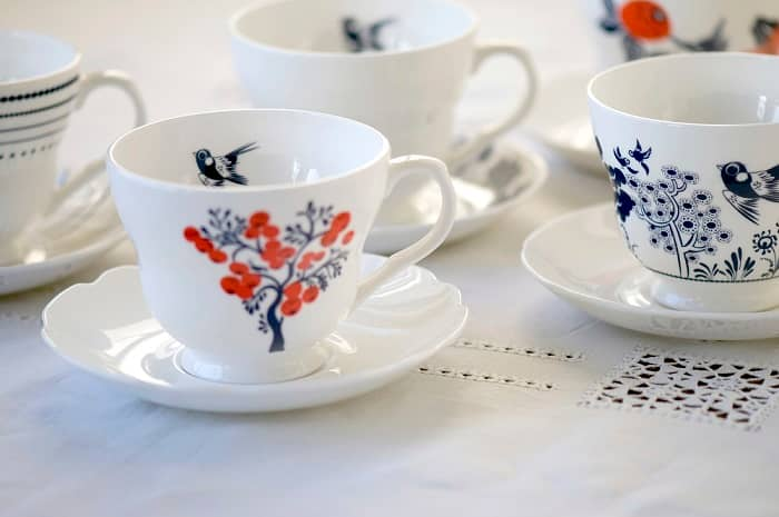 Louise Wilkinson teacups lifestyle