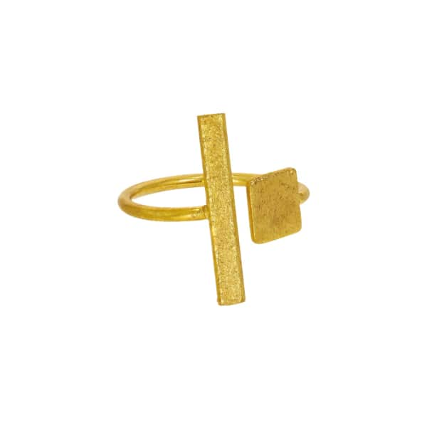 OTTOMAN HANDS Square & Rectangle Adjustable Ring