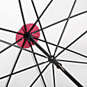 British City Slim Umbrella Grey & Burgundy image
