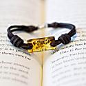 Aeon Bracelet - Honey Baltic Amber & American Bison image