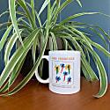 San Francisco Retro Ceramic Mug image
