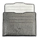 Double Card Holder Metallic Anthracite & Silver image