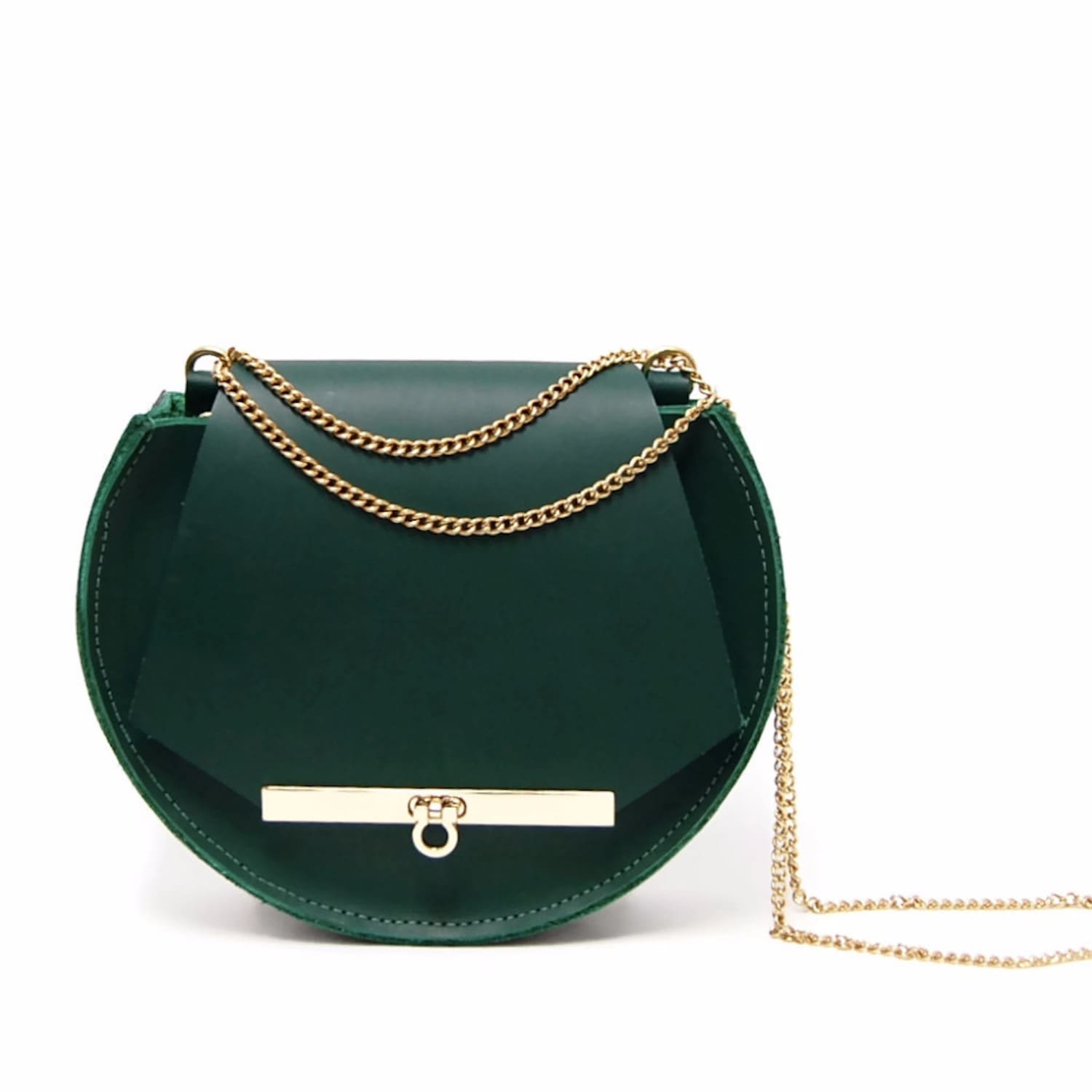 good out x the latest best shoes Loel Mini Military Bee Crossbody & Clutch In Emerald Green by Angela  Valentine Handbags