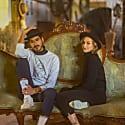 Santana Black - Short Brimmed Fine Wool Urban Hat image