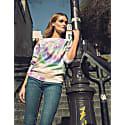 Amal Tie Dye Sweat-Shirt Pastel Rainbow image