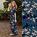 Delphina Silk Kimono Robe image