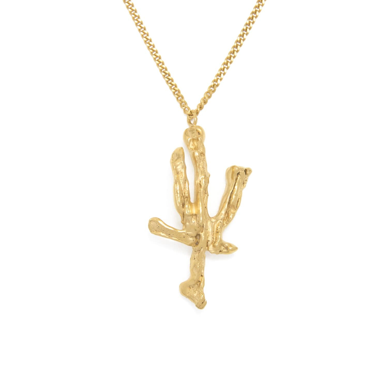 Chinese Zodiac Ox Horoscope Gold Pendant Necklace by Loveness Lee