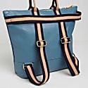Manarola Backpack In Denim Blue image
