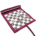 Cyclamen Small Lazy Days Travel Chess Set image
