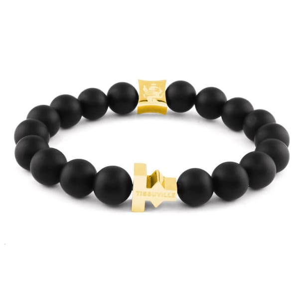 TISSUVILLE Labyrinth Bracelet Gold Men