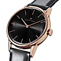 August Berg Serenity Rosegold Classic Noir - Black Leather 32mm image