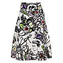 Scarlett Skirt Frida White image