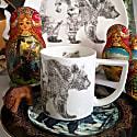 Mummy Bear Fine English Bone China Mug image