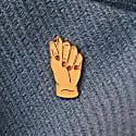 Enamel Pin Fig Sign image