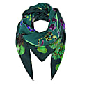 Large Scarf In Rainbow Trout Print image