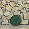 Burre Round Cushion Green image