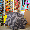 Large Umbrella: Limited Edition Electric Coffin Pattern image