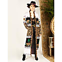 Leopardess Duster in Black & White image