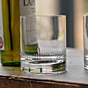 A Pair Of Whisky Glasses With Spears Design image