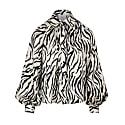 Billow Sleeve Blouse Zebra image