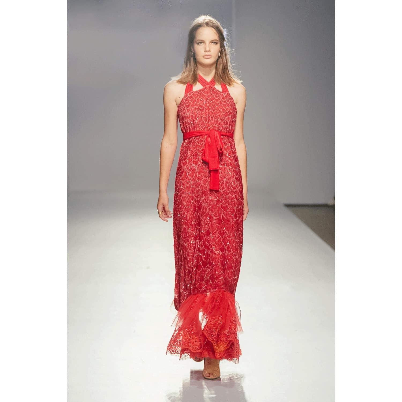 f141ca677c2 Red Sequin Dress image