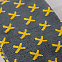 Grey And Yellow Bamboo Socks image