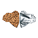 2 Pack Organic Cotton Silver & Cork Face Mask image