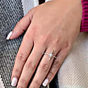 Twinkle Star Ring In Sterling Silver image