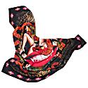 New York Large Silk Scarf image